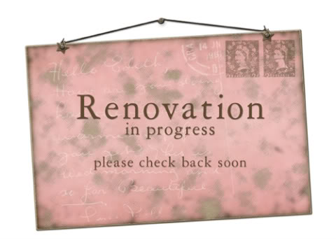 Announcement Of Renovation